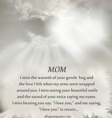 Photo montage Miss You Mom - Pixiz