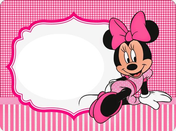 Minnie Mouse Photo Frame