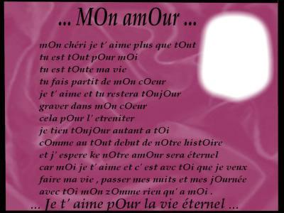 Texte D Amour Rencontre