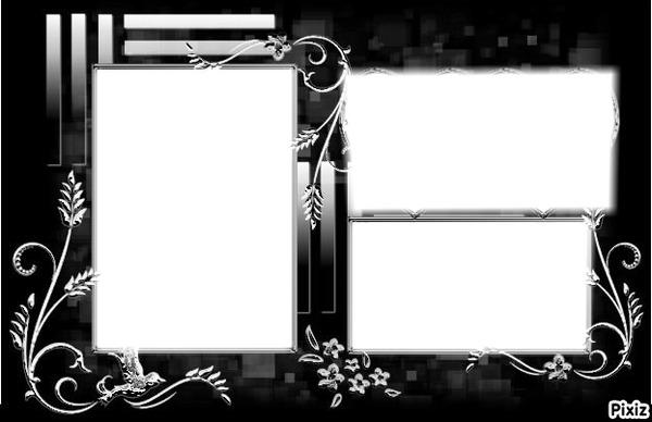 montage photo pele mele duo pixiz. Black Bedroom Furniture Sets. Home Design Ideas