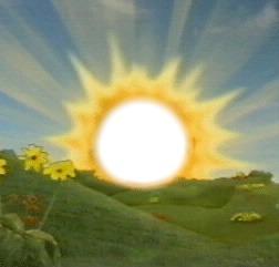 Photo montage teletubbies rising sun pixiz - Soleil teletubbies ...